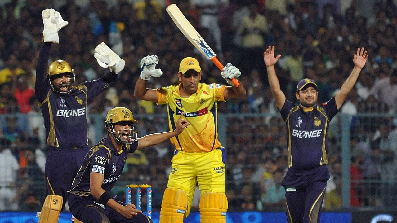 kkr vs csk playing 11