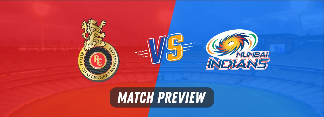 rcb vs mi playing 11
